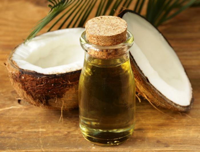 Aceite de coco en la alimentación