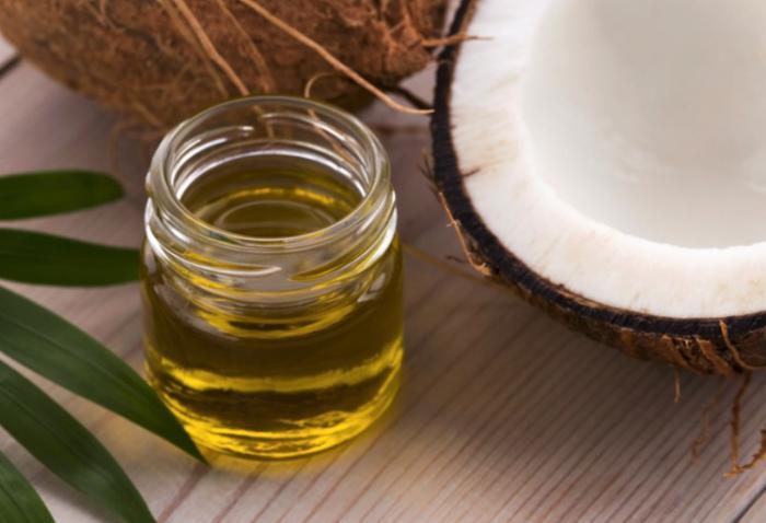 Aceite de coco para la nutrición