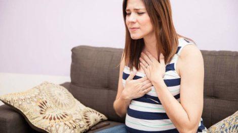 Acidez de estomago en el embarazo
