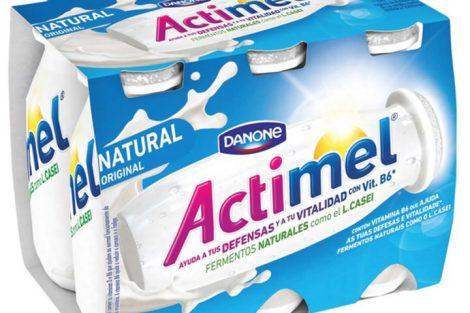 Actimel es el producto con L. Casei de Danone que ayuda a tus defensas