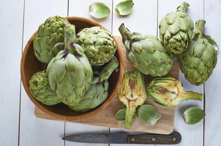 Hojas de alcachofa para adelgazar