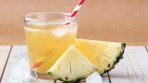 Beneficios del agua de piña para adelgazar