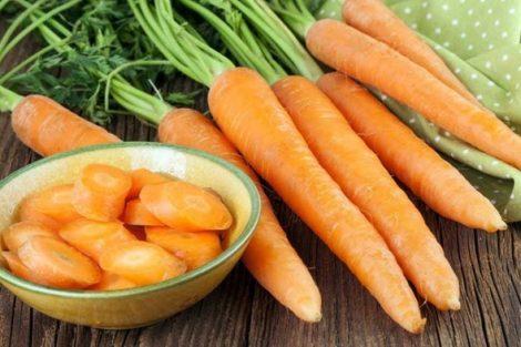 Agua de zanahoria para la diarrea