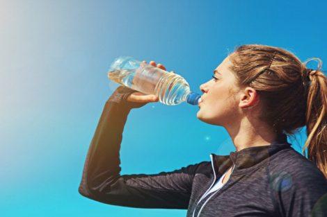 La hidratación durante la práctica de ejercicio