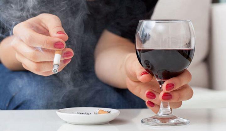 Consumo de alcohol y tabaco en el embarazo