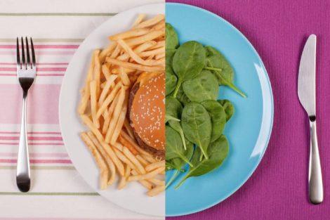 Dieta desequilibrada: cuando la alimentación es inadecuada