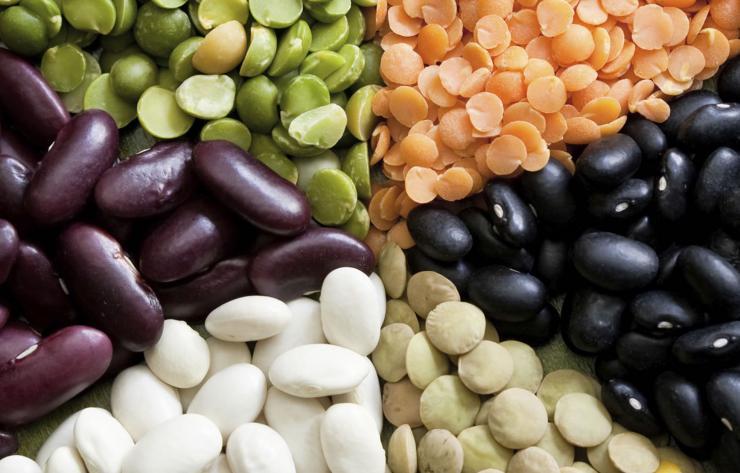 Alimentos de origen vegetal con triptófano