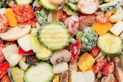 ¿Los alimentos congelados conservan todas sus propiedades?