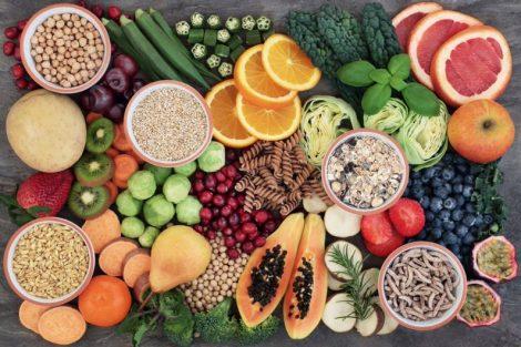 Alimentos ricos en fibra (tabla o lista indispensable)