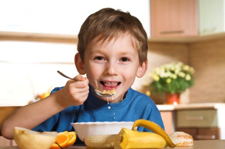 Propiedades de la fibra en niños