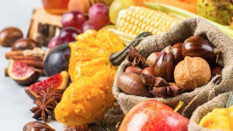 Alimentos característicos del otoño y del invierno