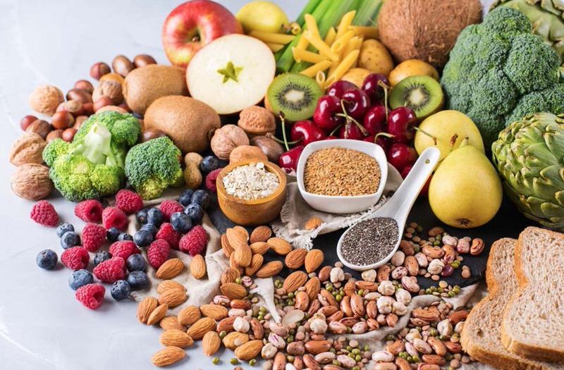 Alimentos vegetales y naturales