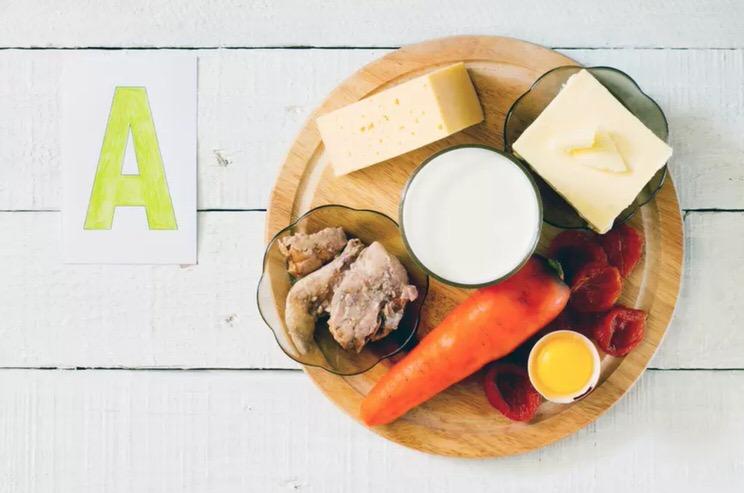 Principales fuentes alimentarias de vitamina A