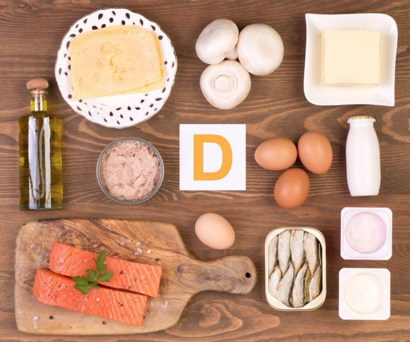 Alimentos con alto contenido en vitamina D