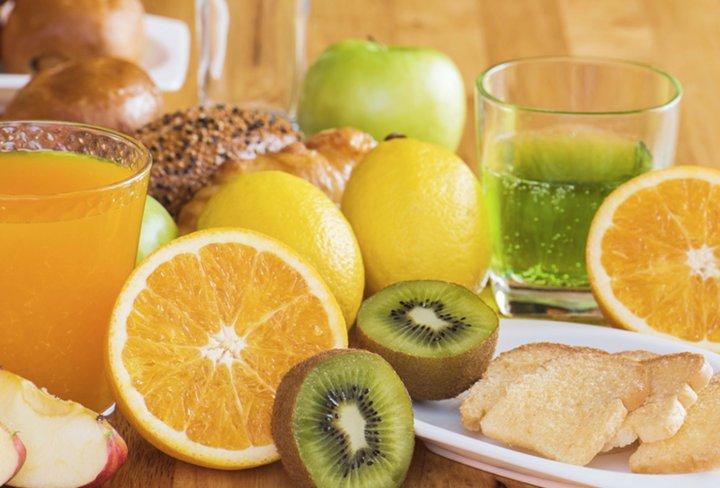 Algunos alimentos con vitamina C