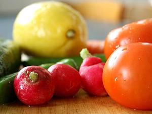 colores en los alimentos