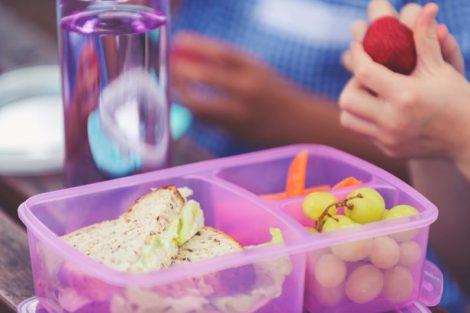 Almuerzos más saludables para el cole de tus hijos