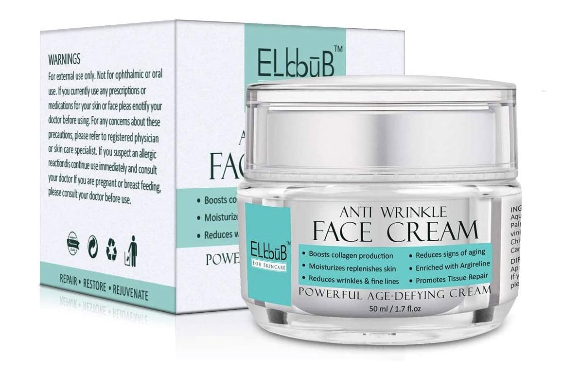 Crema antiarrugas y anti-imperfecciones de ELBBUB