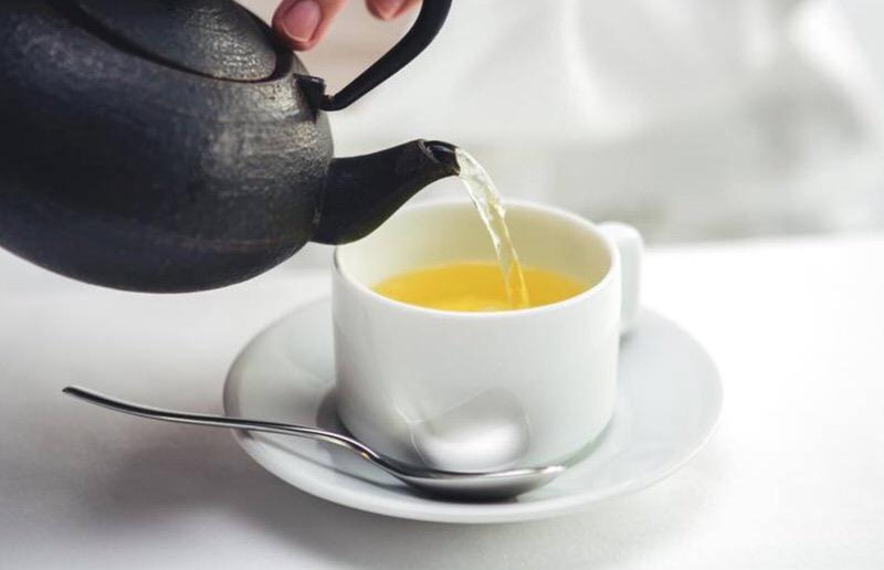 Antioxidantes de una taza de te