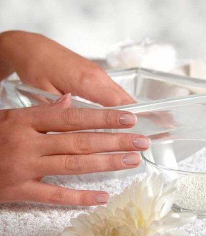 Baños de uñas