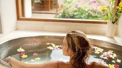 Baños relajantes y drenantes