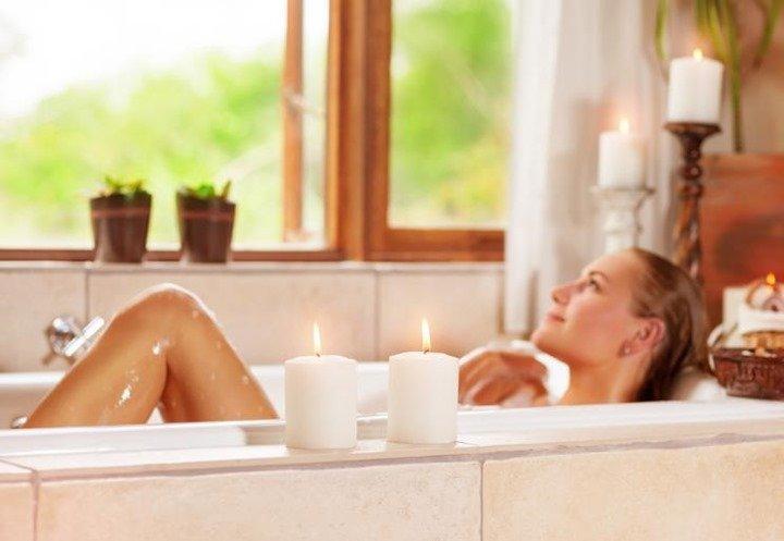 Cualidades del baño relajante si te lo das cada semana