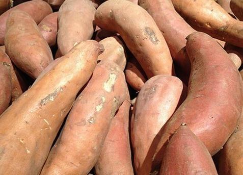 Batatas crudas