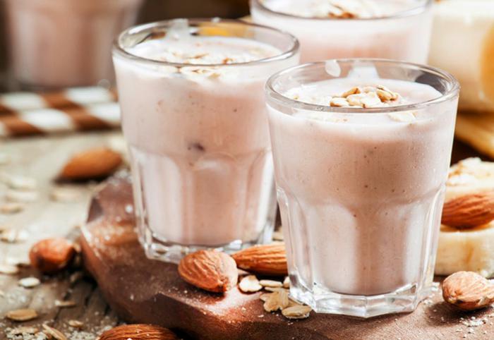 Batido de proteínas de yogur