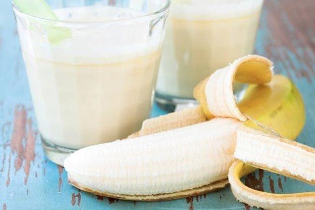 batido-yogurt-platano