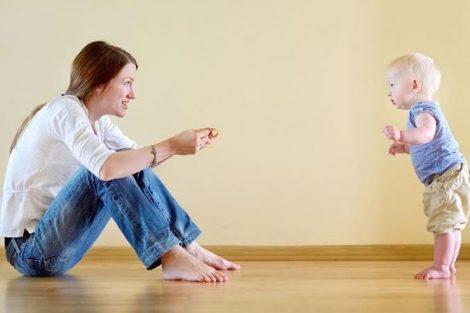 Enseñando el peligro: qué hacer cuando el bebé empieza a caminar