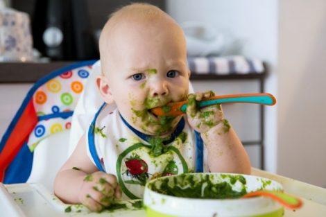 ¿Un bebé puede ser vegetariano? Todo lo que hay que saber