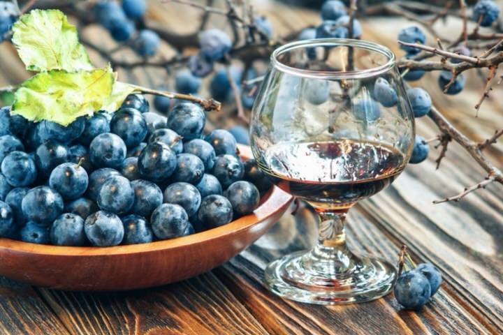 Bebida tradicional de Pacharán