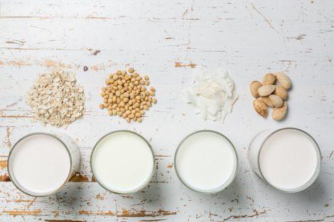 Bebidas vegetales: buenas alternativas a la leche de vaca