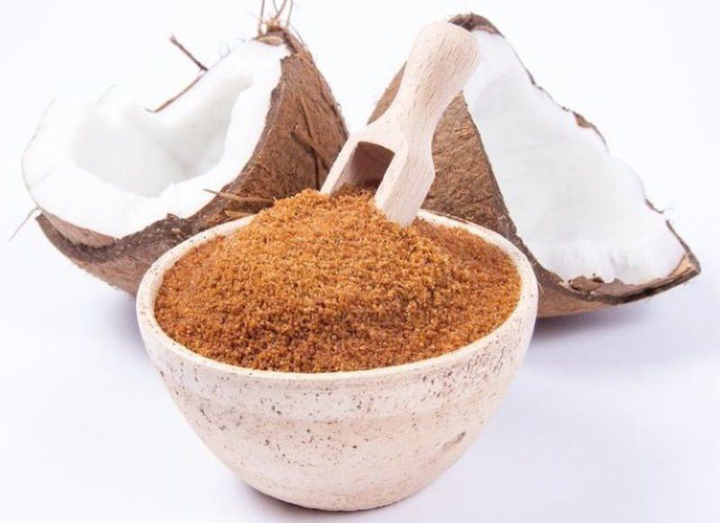 Propiedades del azucar de coco