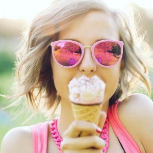 Los beneficios del helado y 1 receta de helado de vainilla