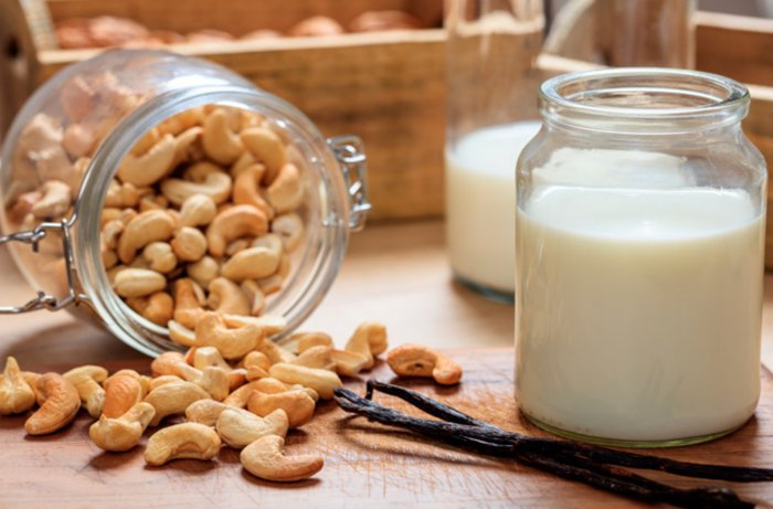 Beneficios de la leche de anacardos