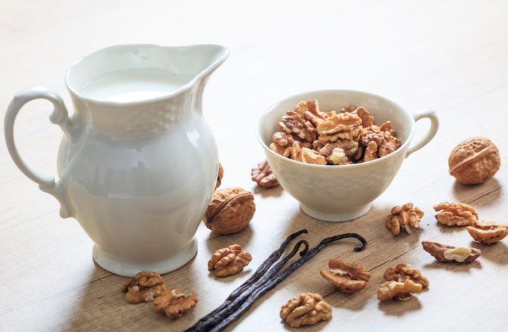 Como hacer leche de nueces