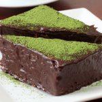 Bizcocho de chocolate y té matcha: recetas para hacer en casa