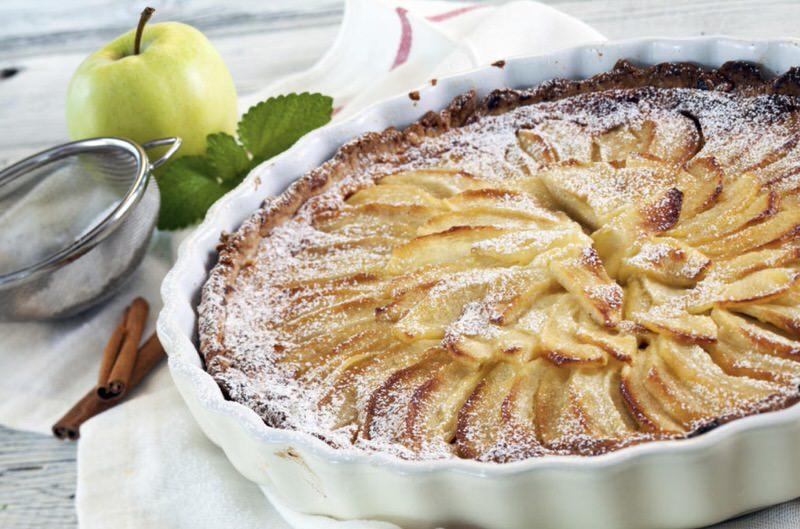 Receta de bizcocho de manzana con canela