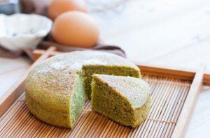 Cómo hacer un bizcocho de té verde Matcha (Matcha Kasutera)