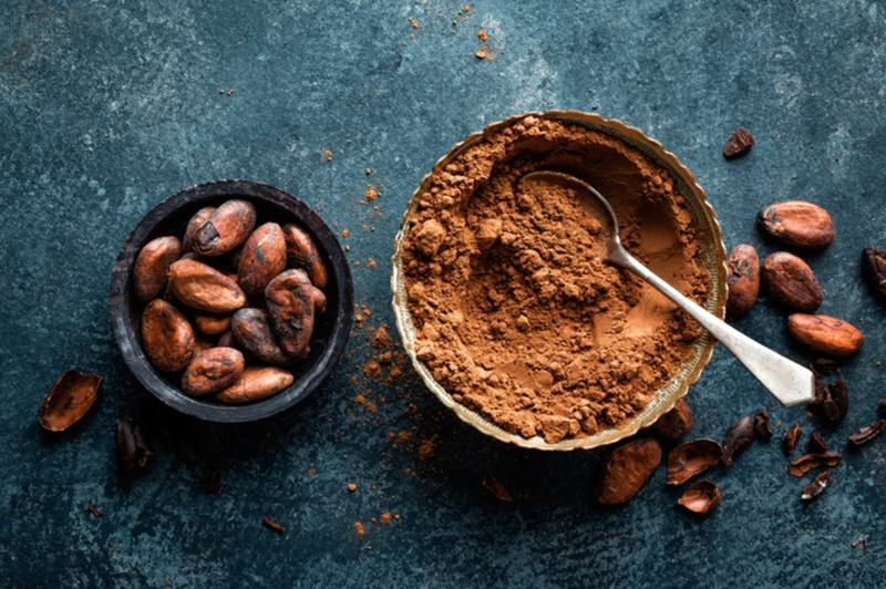 Cacao amargo