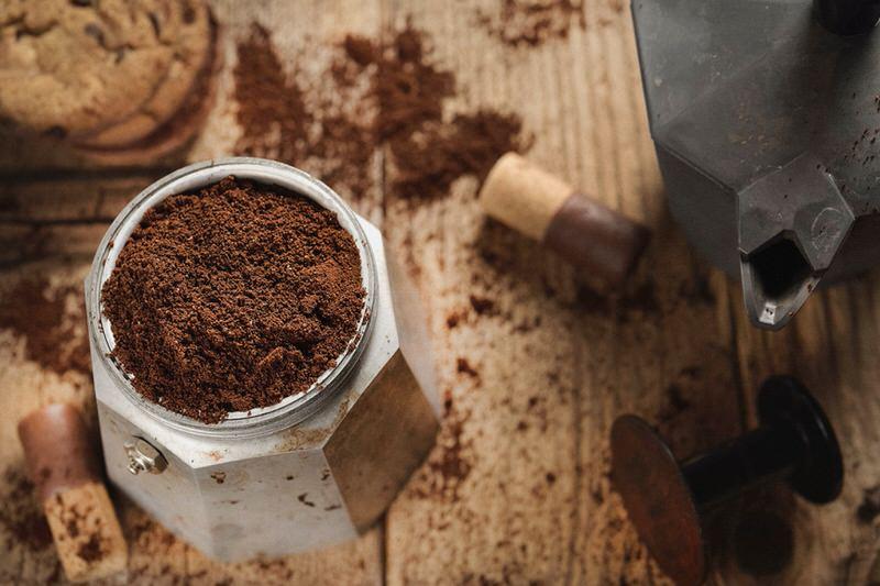 El café en cafetera italiana