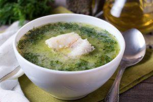 Receta de caldo de pescado con mojo