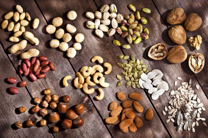Calorías de los frutos secos