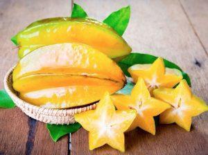 Carambolas o fruta estrella: beneficios y propiedades