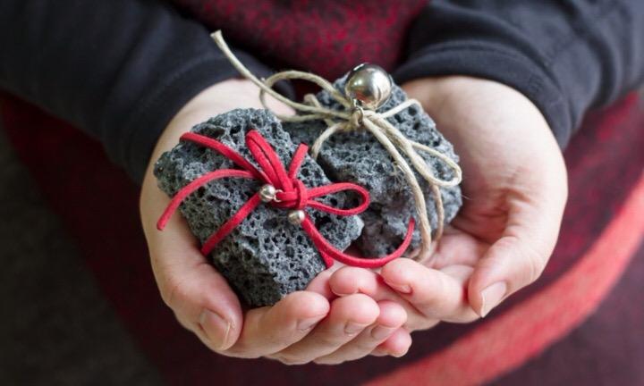 Carbón dulce navideño