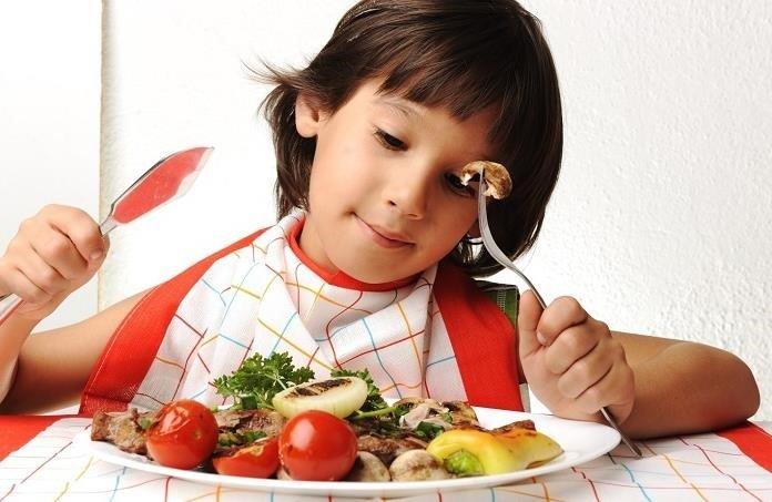 El consumo de carne y nutrición infantil