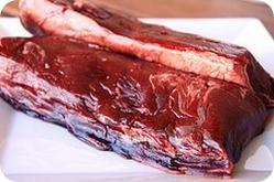 carne de caza y plomo