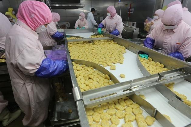 Carne podrida vendida en China