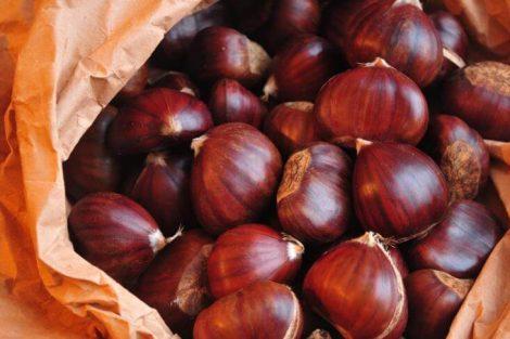 Beneficios y propiedades de las castañas